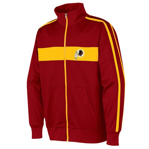 reputable site d43e8 8d80a Washington Redskins Nose Tackle Track Jacket