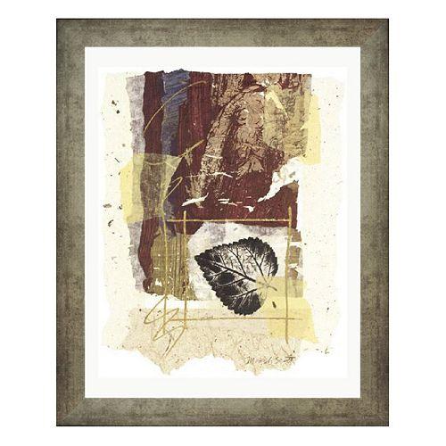 """Leaf Study II"" Framed Wall Art"
