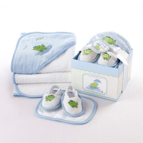 Baby Aspen 3-pc. Frog Bath Gift Set