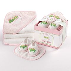 Baby Aspen 3 pc Turtle Bath Gift Set