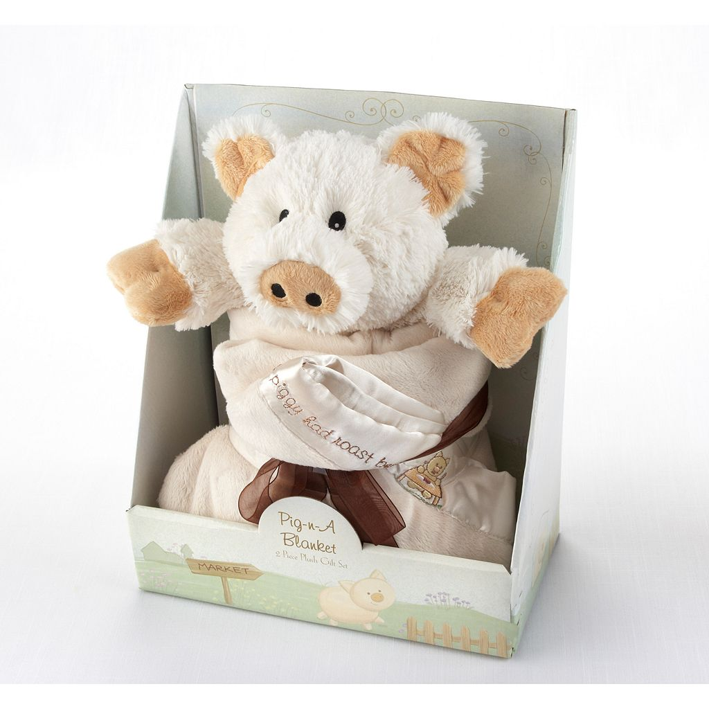 Baby Aspen Pig In A Blanket Gift Set