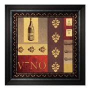 Vino in Red II Framed Wall Art