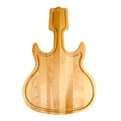 Catskill Craftsmen Guitar-Shaped Cutting Board