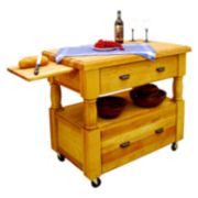 Catskill Craftsmen Island Europa Kitchen Cart