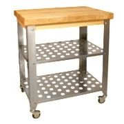 Catskill Craftsmen Stainless Steel Kitchen Table