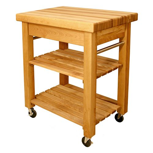 Catskill Craftsmen Mini French Country Kitchen Cart