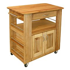 Catskill Craftsmen Heart of the Kitchen Island Kitchen Cart by