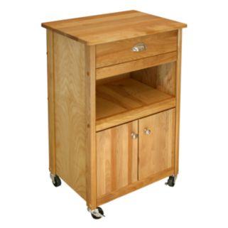 Catskill Craftsmen Open Storage Cuisine Kitchen Cart
