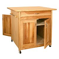 Catskill Craftsmen Big Island Kitchen Cart