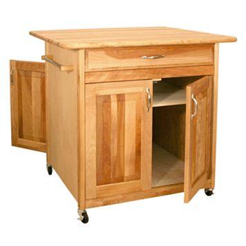 Catskill Craftsmen Big Island Kitchen Cart