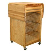 Catskill Craftsmen Contemporary Basket Cart