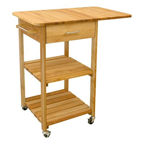 Catskill Craftsmen Drop Leaf Kitchen Cart