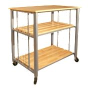 Catskill Craftsmen Contemporary Kitchen Cart