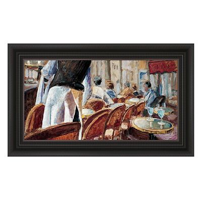 Cafe Terrace Framed Wall Art