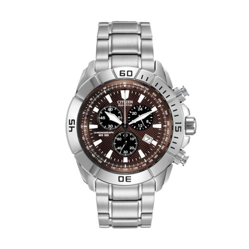 Citizen Watch - Men's Eco-Drive Stainless Steel - AT0810-155X