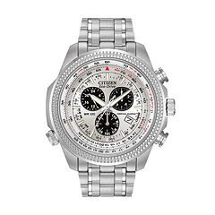 Citizen Eco-Drive Men's Stainless Steel Perpetual Calendar Flight Watch - BL5400-52A