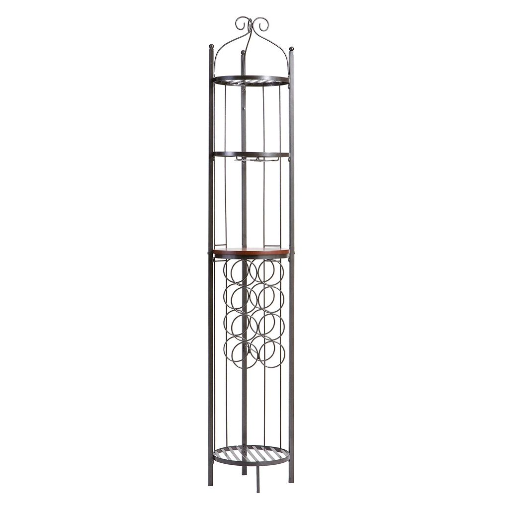 Celtic Wine Rack & Storage Tower