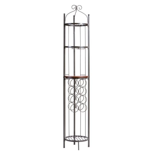 Celtic Wine Rack and Storage Tower