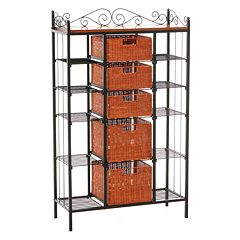 Manilla 5-Drawer Baker's Rack