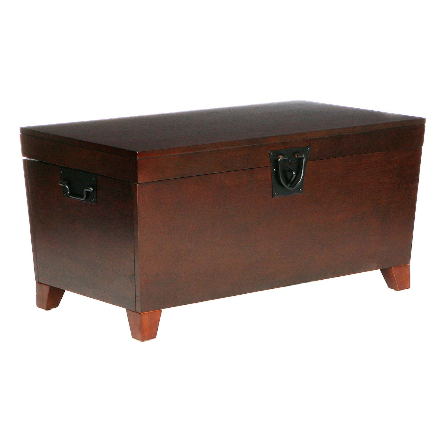 Pyramid Espresso Trunk Coffee Table
