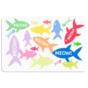 Meow! Fish Floor Mat