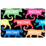 """Meow!"" Cat Floor Mat"