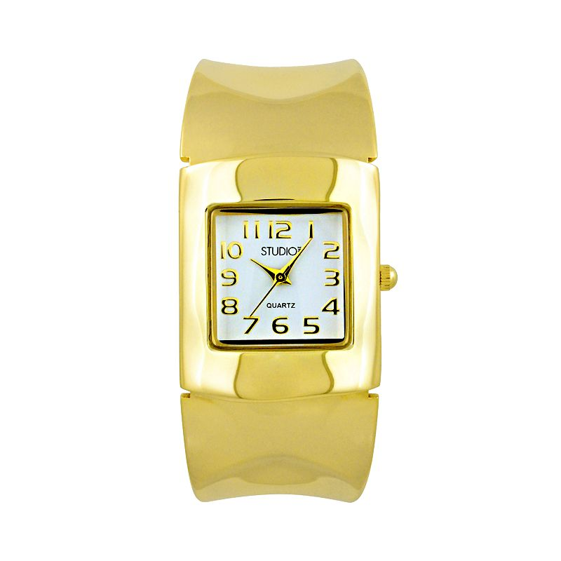 Studio Time Gold-Tone Bangle Watch - Women