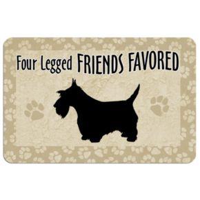 Four Legged Friends Dog Floor Mat