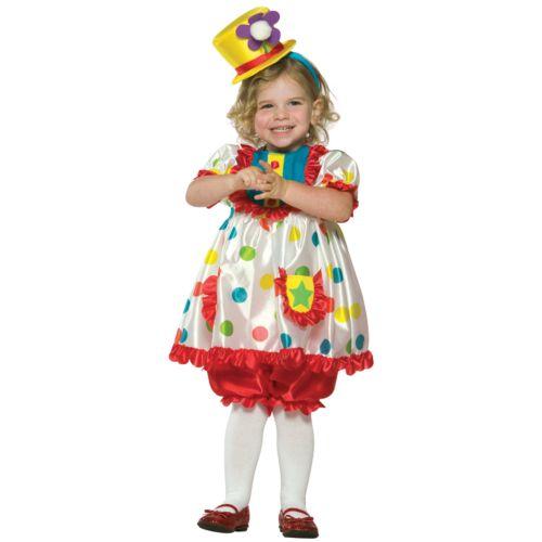 Clown Girl Costume - Toddler