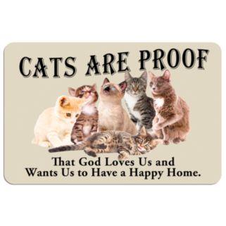 Cats are Proof Floor Mat
