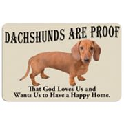 Dachshunds are Proof Dog Floor Mat