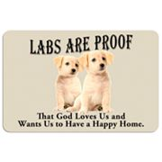 Labs are Proof Dog Floor Mat