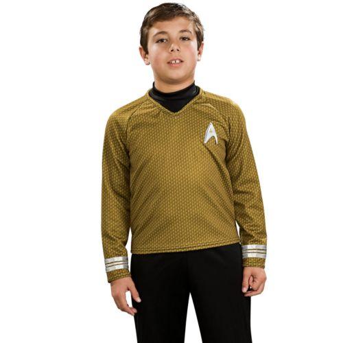 Star Trek Deluxe Captain Kirk Costume - Kids