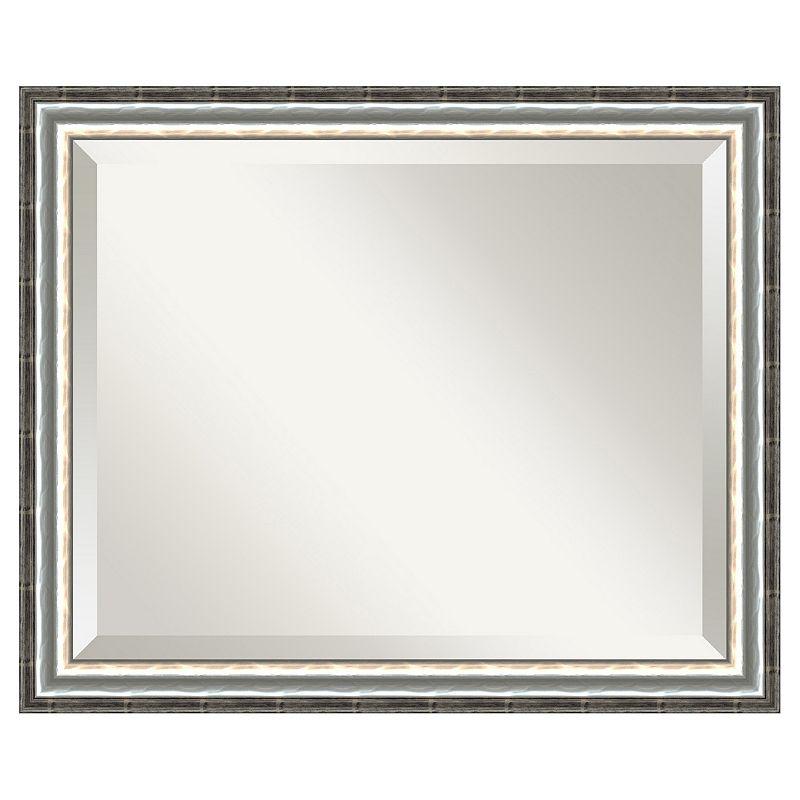 Amanti Art SoHo Silver-Tone Wall Mirror
