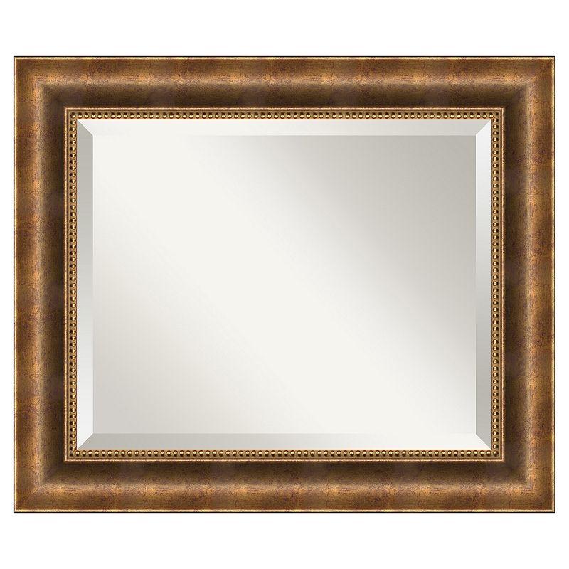Amanti Art Manhattan 25 1/2 x 21 1/2 Wall Mirror