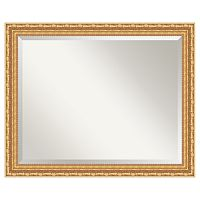 Amanti Art Versailles Gold-Tone Traditional Wood Wall Mirror