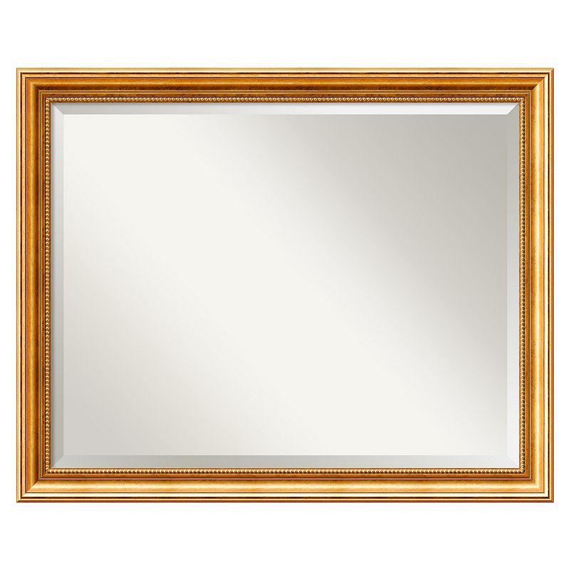 Amanti Art Townhouse Gold-Tone Wall Mirror