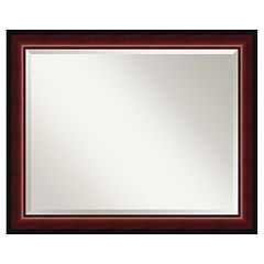 Amanti Art Cambridge Framed Traditional Wood Wall Mirror