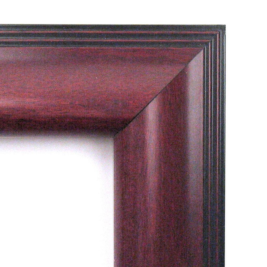 Amanti Art Cambridge Framed Traditional Wood Wall Mirror