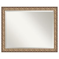Amanti Art Florentine Metallic Gold Finish Wood Wall Mirror