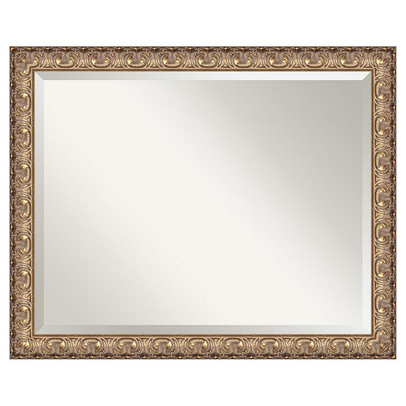 Amanti Art Florentine Gold-Tone Wall Mirror