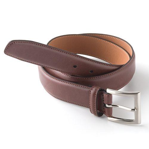 Big & Tall Croft & Barrow® Soft Touch Faux-Leather Belt
