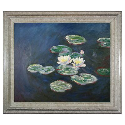 Water Lilies, Evening Framed Wall Art