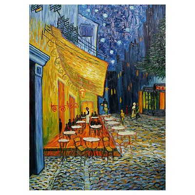 Cafe Terrace at Night Wall Art