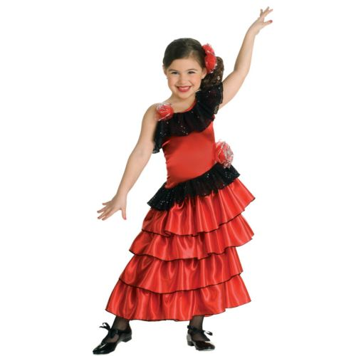 Flamenco Dancer Costume - Kids