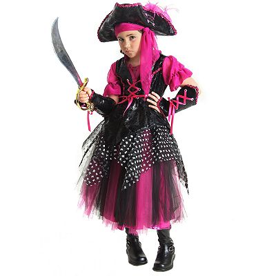 Caribbean Pirate Costume - Kids
