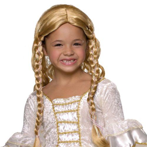 Blonde Princess Wig - Kids