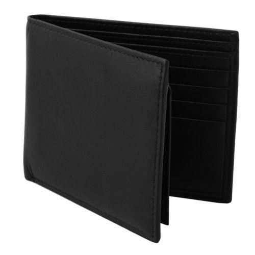 Croft & Barrow® Leather Passcase Wallet