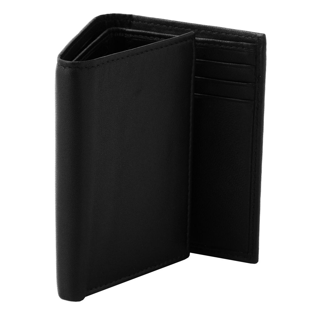 Croft & Barrow® Soft Touch Leather Trifold Wallet
