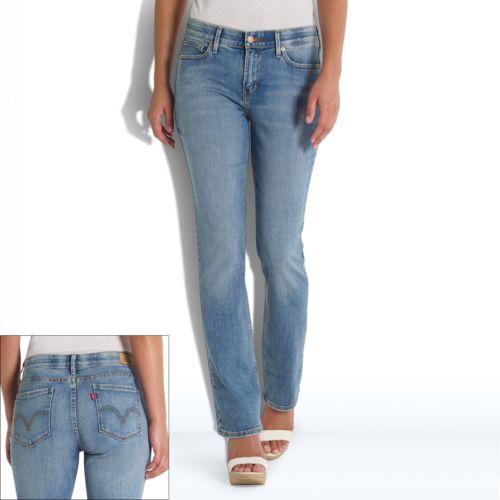 Levi's 525 Perfect Waist Straight-Leg Jeans - Women's